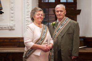 Paskutinės metų vestuvės – po 60 kartu praleistų metų