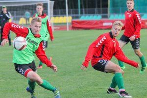Lietuvos 17-mečių futbolo rinktinė atrankos turnyrą pasitinka drąsiai