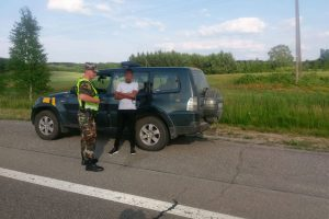 Nigerijos pilietis pateikė neegzistuojantį vairuotojo pažymėjimą