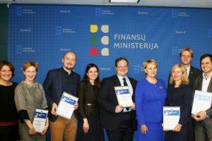 """Finansų ministrė: """"Jonvabaliai"""" – iniciatyva, auginanti atsakingą požiūrį"""