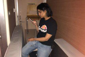 Saudo Arabijos pilietė užsibarikadavo Tailando oro uosto viešbutyje