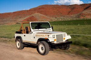 "Devintojo dešimtmečio ""Jeep Wrangler"" – klasikinio automobilio laurai"