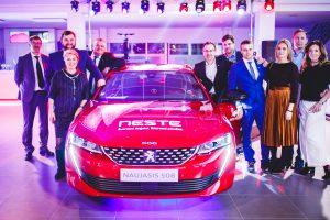 """Kauniečiams pristatyta naujausia """"Peugeot"""" žvaigždė"""