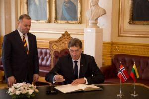 Premjeras: Norvegija palaiko Lietuvą dėl Astravo AE