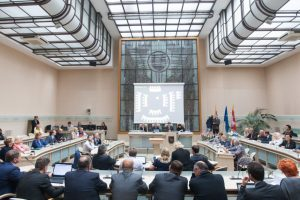 Politikai susiriejo dėl Kauno Centrinio pašto