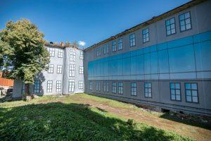 Uždengiama Kauno gėda – žydų ligoninė paslėpta po tentu