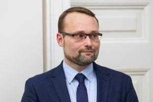 """Ministras M. Kvietkauskas – darbštus, bet greit """"užsidegantis"""" oratorius"""