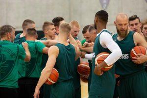 Žalgiriečiai susirinko į pirmąją sezono treniruotę (Š. Jasikevičiaus interviu)