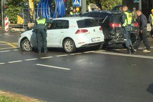 """Į avarijas Kaune pateko du """"CityBee"""" automobiliai"""