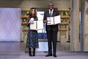 Osle pagerbti Nobelio taikos premijos laureatai