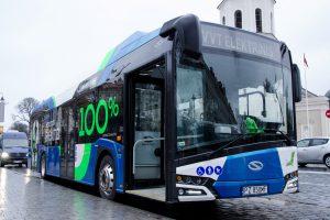 Vilnius ruošiasi skelbti elektrinių autobusų pirkimo konkursą