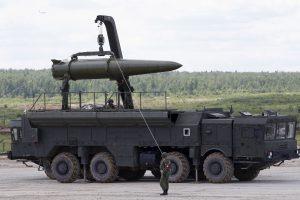 """Kremlius: dislokuoti """"Iskander"""" Kaliningrade yra suvereni Rusijos teisė"""