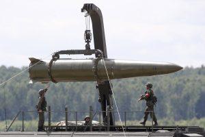 Rusija apie Kaliningrade dislokuojamas raketas: neprivalome informuoti NATO
