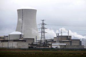 Belgijos atominėje elektrinėje dėl garo nuotėkio išjungtas reaktorius