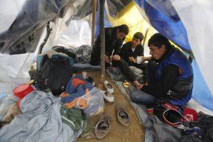 Praėjusiais metais Graikijai teko neproporcinga prieglobsčio prašymų našta