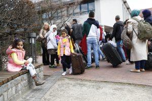 A. Merkel atidarys naują Sirijos pabėgėlių centrą