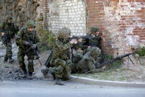 Estijos ir JAV kariai surengs bendrą žygį palei sieną su Rusija