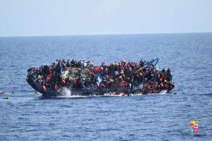 Nuo sausio per Viduržemio jūrą į Europą persikėlė daugiau nei 100 tūkstančių migrantų