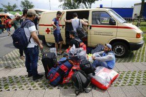 Gaisrą pabėgėlių centre Vokietijoje išprovokavo ginčas dėl Ramadano