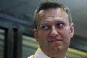 Rusijos opozicijos lyderis A. Navalnas laukia nuosprendžio