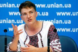 N. Savčenko grįžo į Rusiją paremti įkalintų tėvynainių