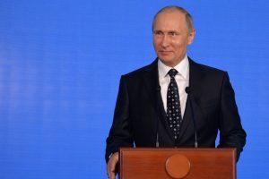 V. Putinas: Rusija nenaudos branduolinio ginklo prieš kaimynes