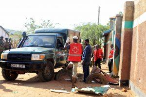 Kenijoje per išpuolį žuvo mažiausiai 12 žmonių