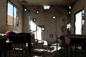 Rusija neigia bombardavusi mokyklą Sirijoje