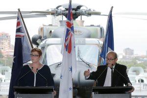 Australija ir Prancūzija pasirašys sutartį dėl naujos kartos povandeninių laivų
