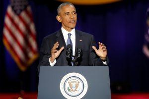 B. Obama paskutiniame interviu daugiausiai dėmesio skyrė D. Trumpui ir Izraeliui