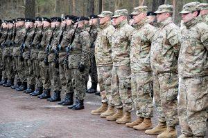 NATO batalionas Latvijoje susirinks birželį
