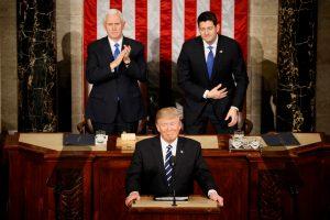 D. Trumpo kalba JAV Kongresui: svarbiausi faktai