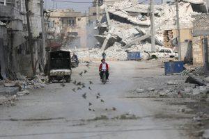 Dėl kovų Sirijoje namus paliko 66 tūkst. žmonių