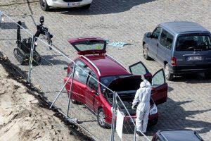 Belgijoje į žmones automobiliu mėginusiam rėžtis vyrui pateikti kaltinimai