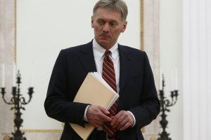 D. Peskovas: JAV ir Rusijos priešiškumas didesnis nei Šaltojo karo metais