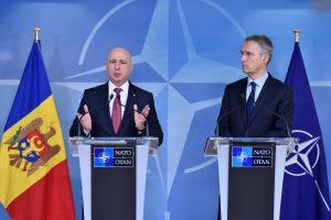 Briuselyje prasidėjo Rusijos ir NATO posėdis