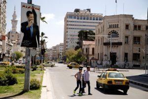 Kremlius: Vakarų reikalavimai pašalinti B. al Assadą neturi perspektyvų