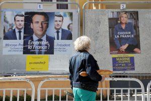 Kandidatų į Prancūzijos prezidentus kampanija artėja prie finišo