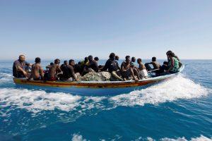 Prie Libijos krantų veikiausiai nuskendo 35 migrantai