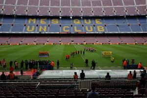 """""""Barcelona"""" ir """"Las Palmas"""" futbolo rungtynės vyks už uždarų durų"""