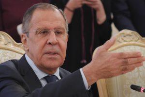 S. Lavrovas: nėra jokių įrodymų, kad Rusija kišosi į rinkimus JAV ir Europoje