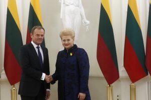 Apklausa: D. Grybauskaitė – tarp favoritų kitąmet vadovauti EVT