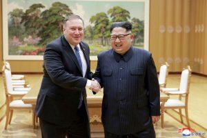 Šiaurės Korėjoje įvyks M. Pompeo ir Kim Jong Uno susitikimas