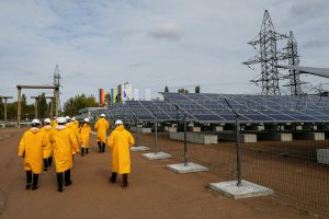 Černobylyje atidaroma saulės jėgainė