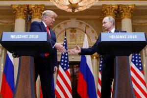 D. Trumpas su V. Putinu Paryžiuje nesusitiks?