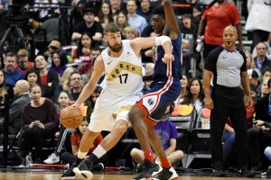 NBA lygoje D. Sabonis pelnė 19, J. Valančiūnas – 8 taškus