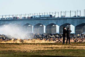 Danijoje traukinio avarijos aukų padaugėjo iki aštuonių