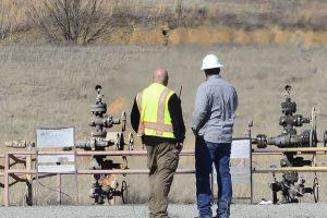 Oklahomoje sprogus dujų gręžiniui nukentėjo vienas vyras