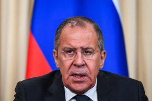 S. Lavrovas: Rusija nepasirašys Branduolinio ginklo uždraudimo sutarties