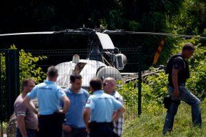 Prancūzijoje sulaikytas iš kalėjimo sraigtasparniu pasprukęs kalinys